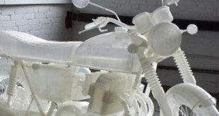 moto Honda CB500 imprimée en 3D