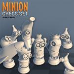 Jeu d'échecs les Minions