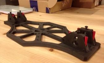 Châssis du drone racer TILT imprimé en 3D