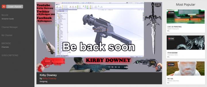 Chaine MMF TV de Kirby Downey
