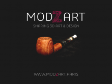 Modzart Logo + tagline