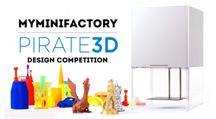MyMiniFactory Pirate3D Design Competition
