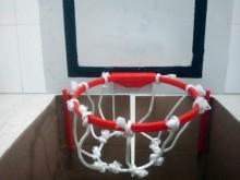 Mini panier de basket pour poubelle