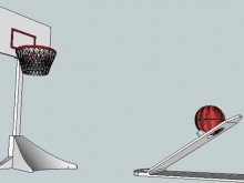 Catapulte basketball imprimante 3D