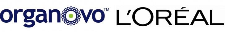 Logos L'Oréal et Organovo