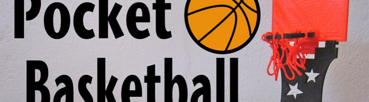 Pocket Basketball imprimé en 3D