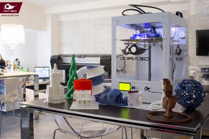 Objets imprimés avec l'imprimante 3D Ira3D Poetry2
