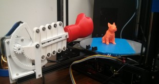 Punch Out 3D Printed Object 01