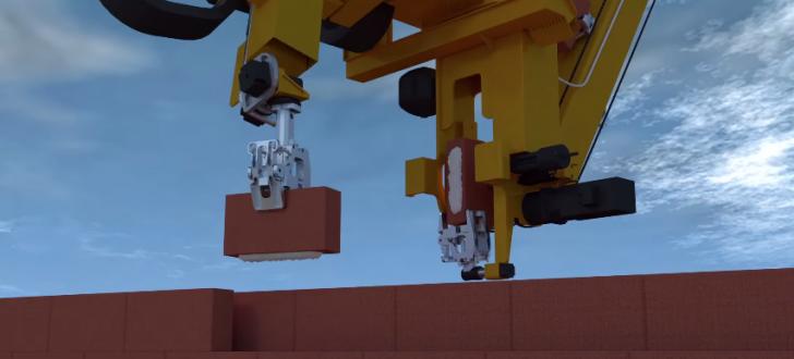 fastbrickrobotics impression 3D maisons briques