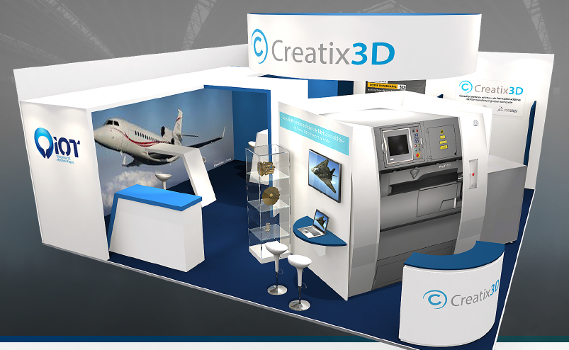 stand creatix3d le bourget