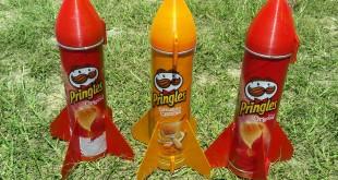 Fusées pringles imprimées en 3D