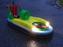 Hovercraft 3D printed