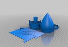 Pièces de fusée à imprimer en 3D