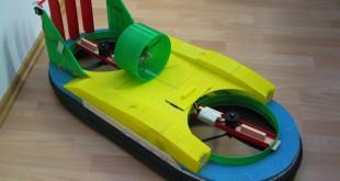 aéroglisseur imprimé en 3D