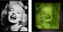 Marilyn Monroe imprimée en 3D