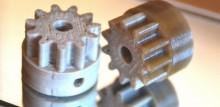 Engrenage imprimé avec du filament PEEK