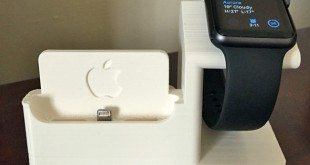 support de chargement Apple Watch imprimé en 3D