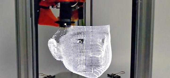 3dprinted lightpainting imprimer lumiere 3D