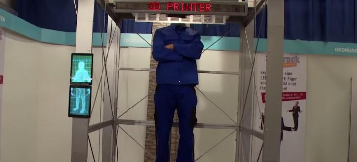 Impression 3D humain