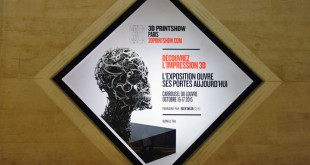 Entree salon 3D Printshow Paris
