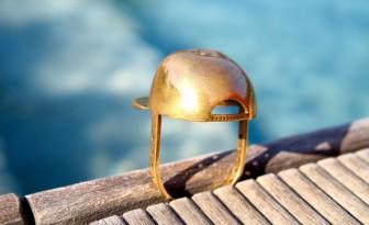 Jean-Louis Casquette bijou bague impression 3D