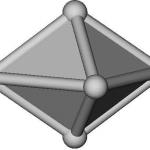 Cristal représenté avec ses faces