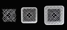 Structure 3D cristalline fractale