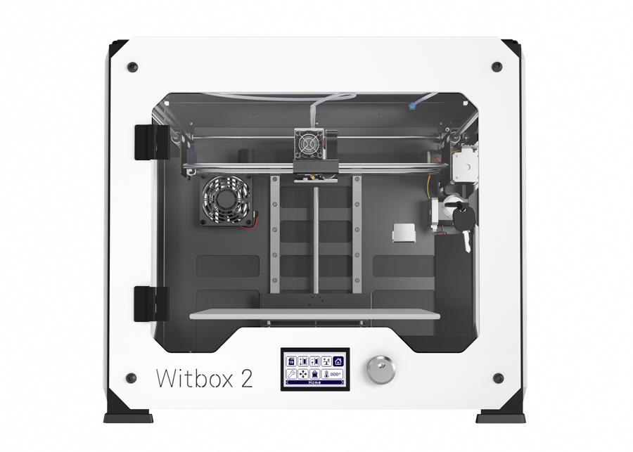 caract ristiques techniques imprimante 3d bq witbox 2. Black Bedroom Furniture Sets. Home Design Ideas