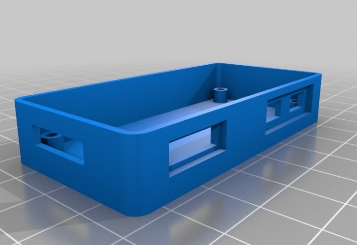 3D Printed Raspberry Pi Zero Case