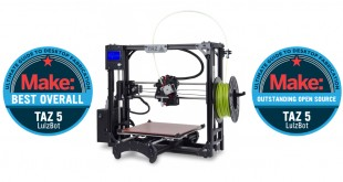 Lulzbot Tag 5 meilleure imprimante 3D 2016