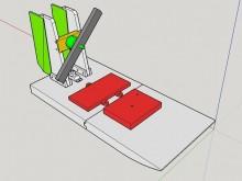 Hydroglisseur modélisé en 3D