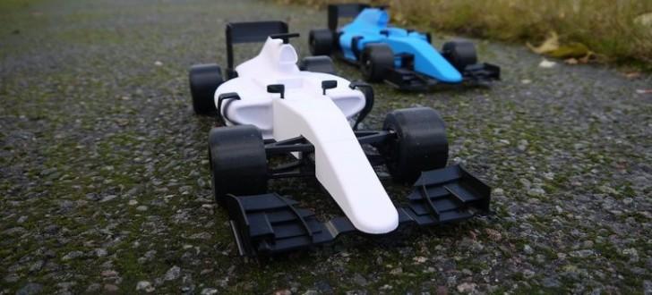 OpenRC Formule 1 imprimée en 3D