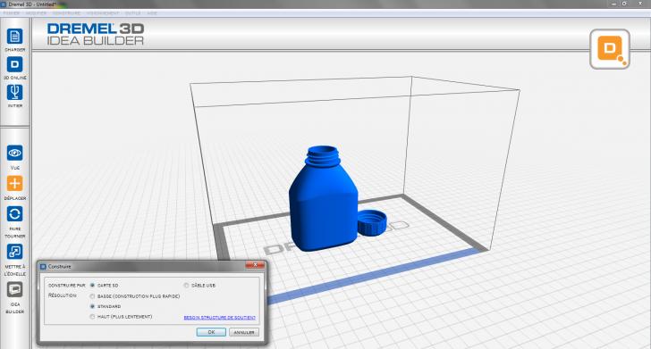 Logiciel Dremel pour imprimante 3D