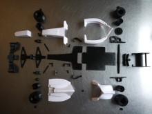 Pièces de formule 1 imprimées en 3D
