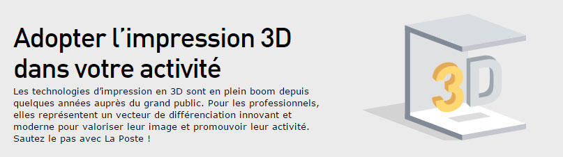 La Poste modelisation et creation 3D