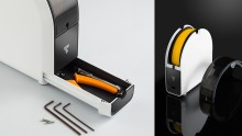 Imprimante 3D TierTime UP Mini 2 boite à outils et support de bobine