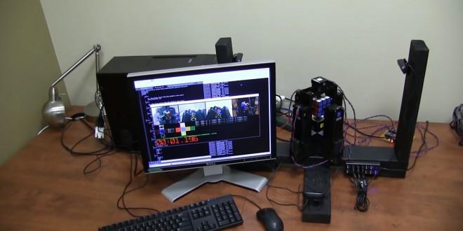 Robot qui résout un Rubik's Cube