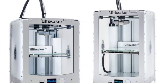 ultimaker d voile 2 nouvelles imprimantes 3d au ces 2016. Black Bedroom Furniture Sets. Home Design Ideas