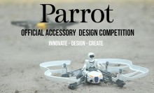 Drone StarWars concours MyMiniFactory Parrot