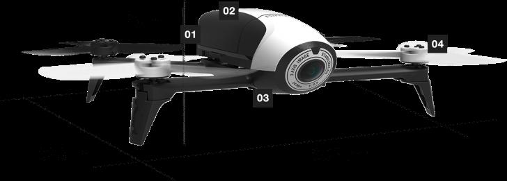design drone Parrot Bebop 2