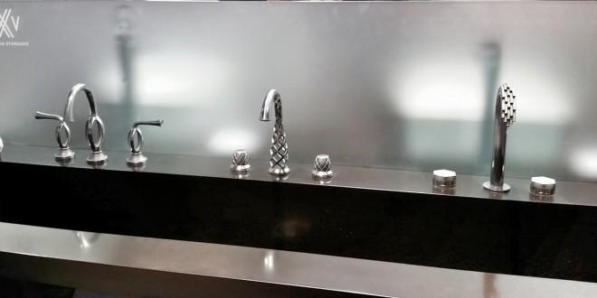 Des robinets de luxe imprimés en 3D avec du métal