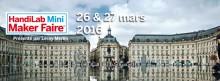 Handilab Mini Maker Faire 2016 Bordeaux