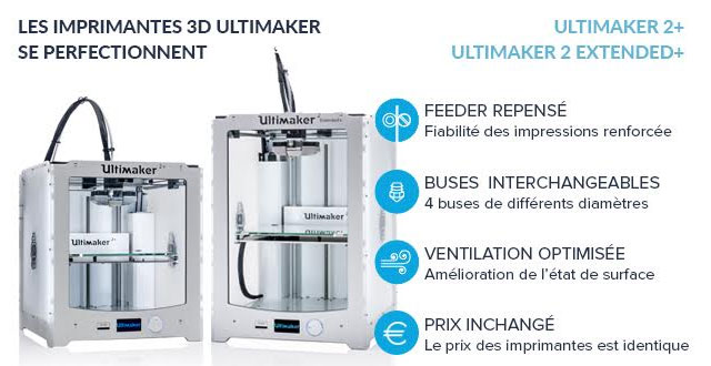 Ultimaker 2 plus Extendedplus