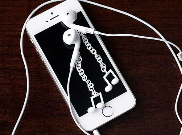 Bijoux écouteurs Apple