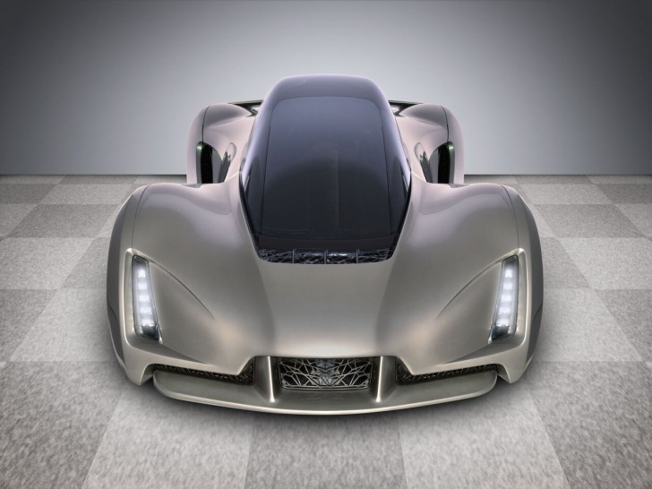 SuperCar Blade imprimée en 3D
