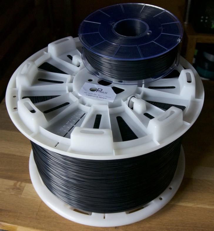 Comparaison bobine 10 kg vs 1 kg