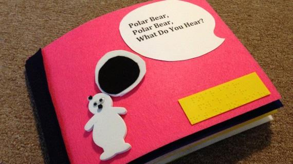 livre enfant braille 3D