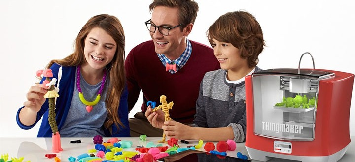 imprimante 3D pour enfants Mattel ThingMaker