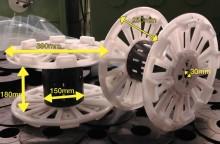 Dimensions de la grosse bobine de 10 kg
