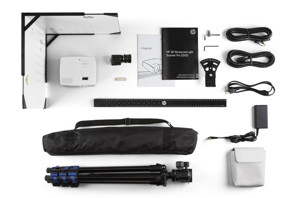 photo scanner 3D HP PRO SLS-3 SLS3